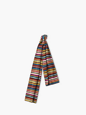 Paul Smith Multi Stripe Knit Scarf, Multi
