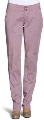 Cross Jeans Women's Tapered Fit Trouser - Purple