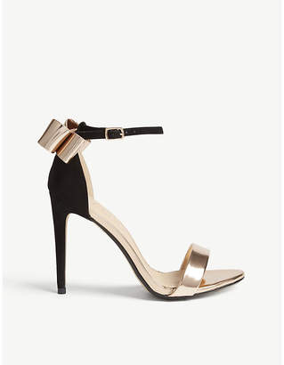 Office Harriet bow heeled sandals