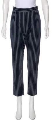 Pierre Balmain Mid-Rise Straight-Leg Pants