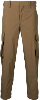 Neil Barrett cargo cropped trousers