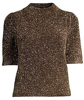 a2560b29bab Kate Spade Women s Dashing Beauty Metallic Textured Sweater