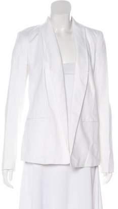 Michael Kors Linen Open Front Blazer