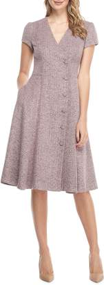 Gal Meets Glam Agatha Dainty Tweed Dress