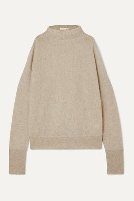 Skin - Gillian Cold-shoulder Cashmere Sweater - Gray