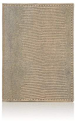 Barneys New York Men's Lizard-Embossed Leather Passport Case