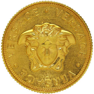 Versace Gold Medusa Coin Ring