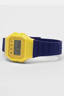 Neff Unisex NVYLNF0204 Digital Display Chinese Automatic Blue Watch