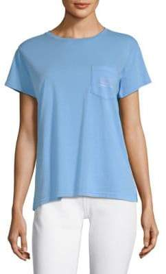 Vineyard Vines Two-Tone Vintage Whale Relaxed Cotton Pocket Tee