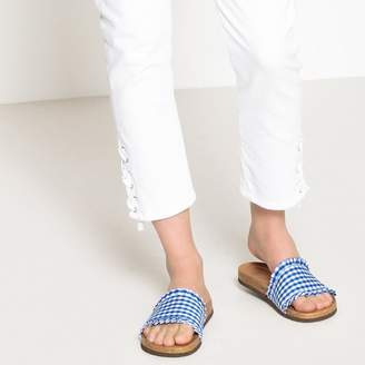 La Redoute Collections Gingham Mules