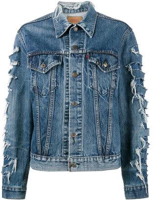 x Levis repurposed denim jacket