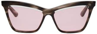 McQ Tortoiseshell Iconic Sunglasses