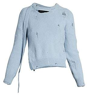 Marc Jacobs Women's The Worn & Torn Sweater