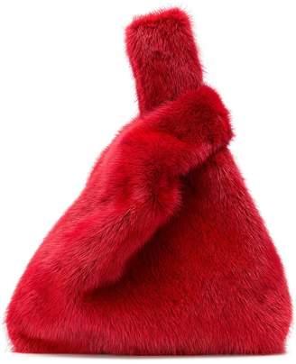 Simonetta Ravizza mini fur tote bag