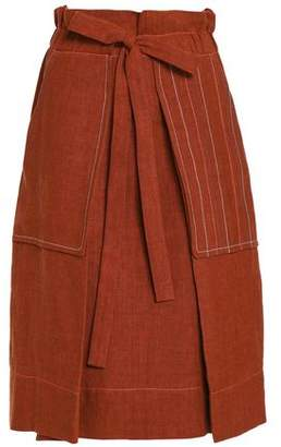 Sonia Rykiel Pleated Linen Skirt