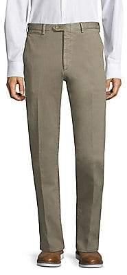 Brioni Men's Twill Chino Trousers