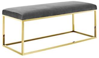 Modway Anticipate Fabric Bench, Multiple Colors
