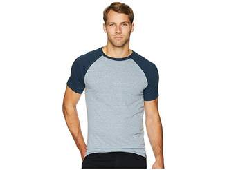 Threads 4 Thought Tri-Blend Short Sleeve Contrast Raglan Tee