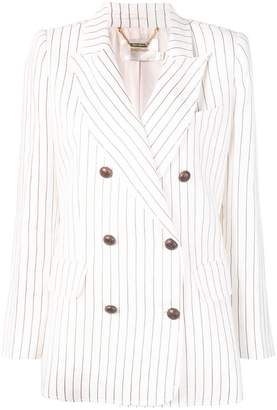 Zimmermann stripe print blazer