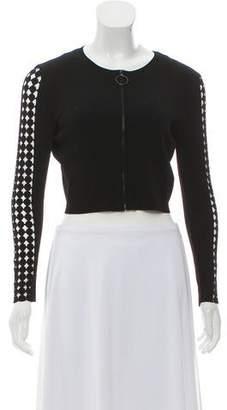 Akris Punto Long Sleeve Knit Cardigan