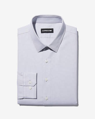 Express Classic Stretch Jacquard Dress Shirt