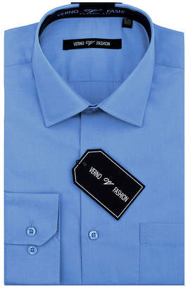 VERNO Verno Men's Classic Fit Dress Shirt