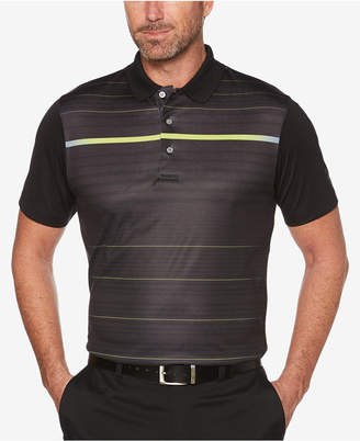 PGA Tour Men's Luminous Striped Golf Polo