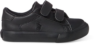 Ralph Lauren Easten Faux-Leather EZ Sneaker