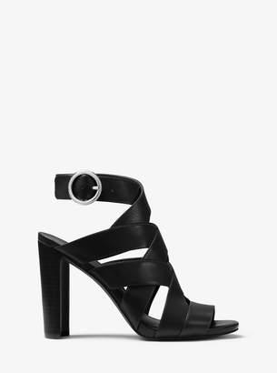 MICHAEL Michael Kors Alana Leather Sandal
