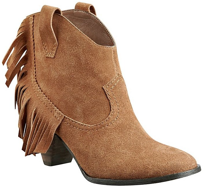 GUESS Seline Fringed Booties