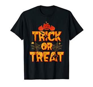 Trick or Treat Scary Halloween Tshirt for men / women / kids