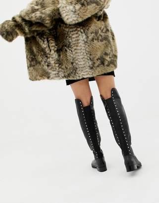 d462f8e1c2b Aldo Black Over The Knee Women s Boots - ShopStyle