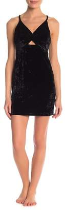 Free People Come Together Velvet Bodycon