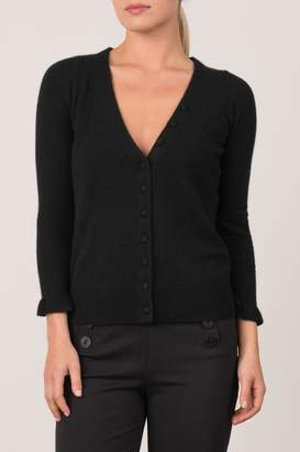 O'Leary Margaret V-Neck Petite Cardigan