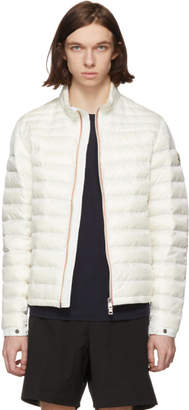 Moncler White Down Daniel Jacket