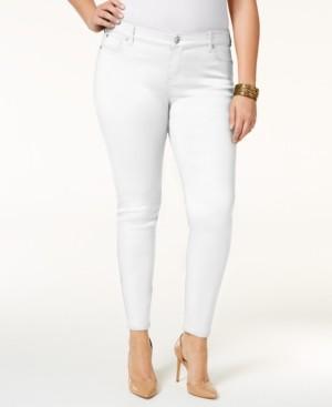 Celebrity Pink Trendy Plus Size Jayden Colored Skinny Jeans