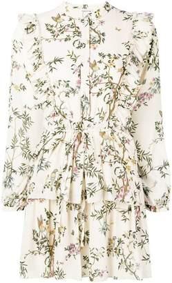Semi-Couture Semicouture floral print shirt dress