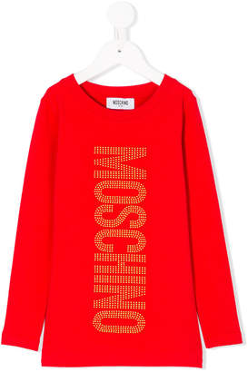 Moschino Kids logo long sleeve T-shirt