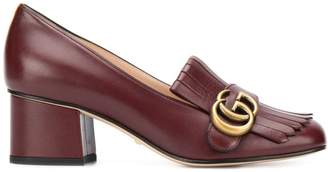 Gucci Double G fringed loafers