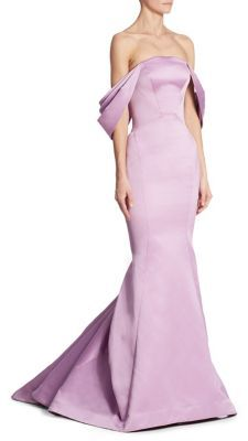 Zac Posen Strapless Draped Gown $4,990 thestylecure.com