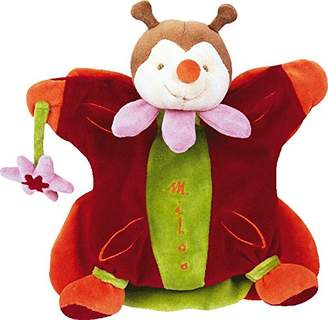 Doudou Et Compagnie Puppet Miloo Butterfly and Flower
