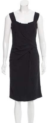 Philosophy di Alberta Ferretti Gathered Midi Dress