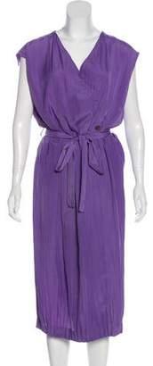 Loewe Midi Wrap Dress