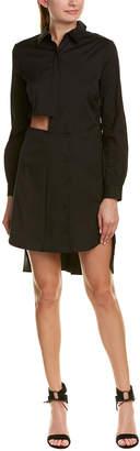 Milly Cutout Shirtdress