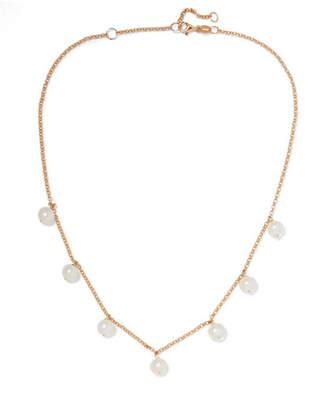Lulu Natasha Schweitzer 9-karat Gold Freshwater Pearl Choker