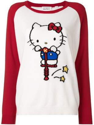 Hello Kitty Chinti & Parker cashmere embroidered sweater
