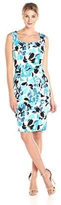 Kasper Women's Floral Printed Sheath Dress