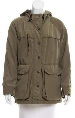 Steven Alan Hooded Short Coat