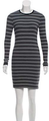 ATM Anthony Thomas Melillo Striped Mini Dress