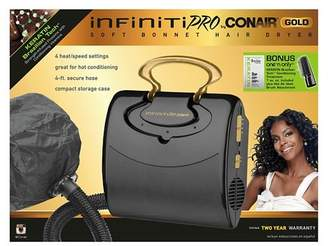 Conair InfinitiPro Gold by Soft Bonnet Hair Dryer